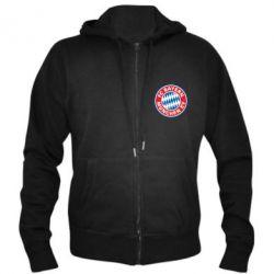 Мужская толстовка на молнии FC Bayern Munchen - FatLine