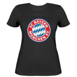 Женская футболка FC Bayern Munchen - FatLine