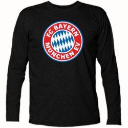 Футболка с длинным рукавом FC Bayern Munchen - FatLine
