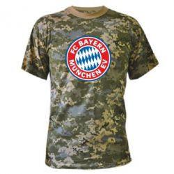 Камуфляжная футболка FC Bayern Munchen - FatLine