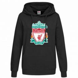 Женская толстовка FC Liverpool - FatLine