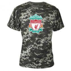 Камуфляжная футболка FC Liverpool - FatLine