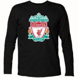 Футболка с длинным рукавом FC Liverpool - FatLine