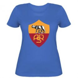Женская футболка FC Roma - FatLine