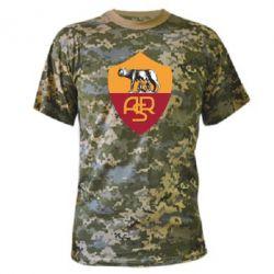 Камуфляжная футболка FC Roma - FatLine
