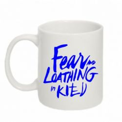 Кружка 320ml Fear mo Loathing in Kitv
