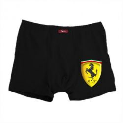 Мужские трусы Ferrari 3D Logo - FatLine