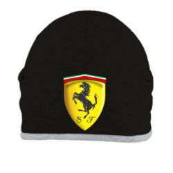 Шапка Ferrari 3D Logo