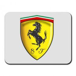 Коврик для мыши Ferrari 3D Logo - FatLine