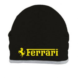Шапка Ferrari - FatLine