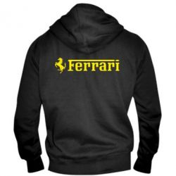 Чоловіча толстовка на блискавці Ferrari - FatLine