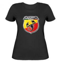 Женская футболка FIAT Abarth - FatLine