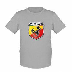Детская футболка FIAT Abarth - FatLine