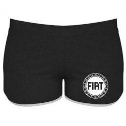 Женские шорты Fiat logo - FatLine