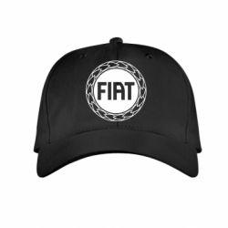Детская кепка Fiat logo - FatLine