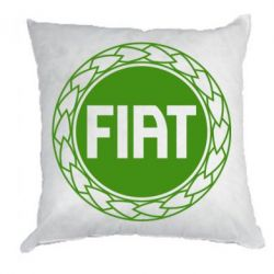 Подушка Fiat logo