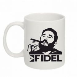 Кружка 320ml Fidel Castro - FatLine