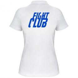 Женская футболка поло Fight Club - FatLine