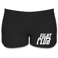 Женские шорты Fight Club - FatLine