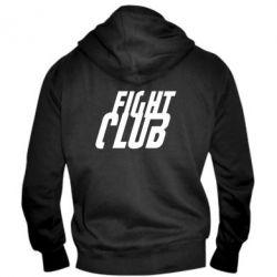 Мужская толстовка на молнии Fight Club - FatLine