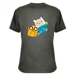 Камуфляжная футболка Фин и Джейк - FatLine