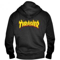 Мужская толстовка на молнии Fire Thrasher - FatLine