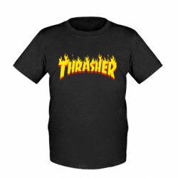 Детская футболка Fire Thrasher - FatLine