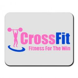 Коврик для мыши Fitness For The Win Crossfit - FatLine