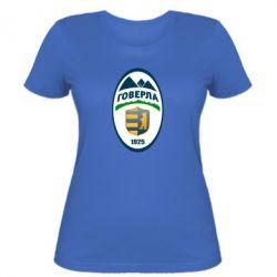 Женская футболка ФК Говерла Ужгород - FatLine