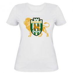 Женская футболка ФК Карпаты Львов