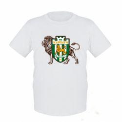Детская футболка ФК Карпаты Львов