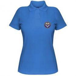 Женская футболка поло ФК Металлург Запорожье