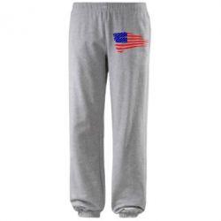 Штаны Флаг США - FatLine