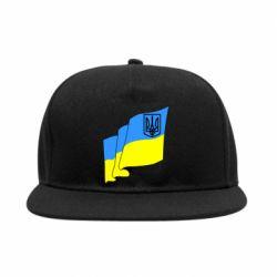 Снепбек Флаг Украины с Гербом - FatLine