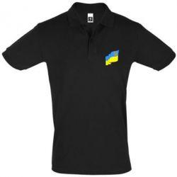 Футболка Поло Флаг Украины с Гербом - FatLine