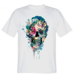 ������� �������� Flower Skull 4 - FatLine