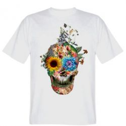 ������� �������� Flower Skull 5 - FatLine