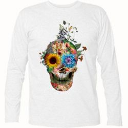 �������� � ������� ������� Flower Skull 5 - FatLine