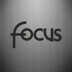 Наклейка Focus - FatLine