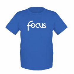 Детская футболка Focus - FatLine