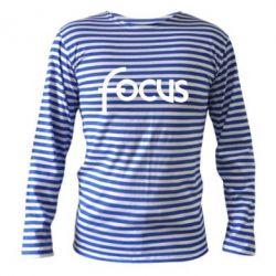 Тельняшка с длинным рукавом Focus - FatLine