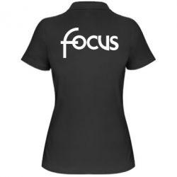 Женская футболка поло Focus - FatLine