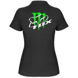 Женская футболка поло Фокс Енерджи - FatLine
