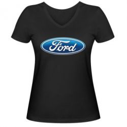 ������� �������� � V-�������� ������� Ford 3D Logo - FatLine
