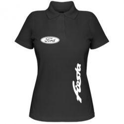 Женская футболка поло Ford Fiesta - FatLine