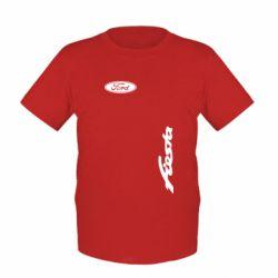 Детская футболка Ford Fiesta - FatLine