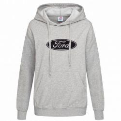 Женская толстовка Ford Logo - FatLine