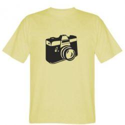 Мужская футболка Фотоаппарат - FatLine
