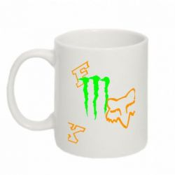 Кружка 320ml Fox Monster Energy - FatLine