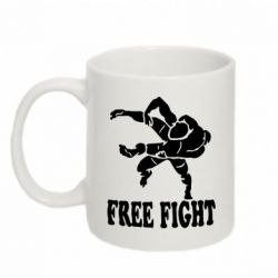 Кружка 320ml Free Fight - FatLine